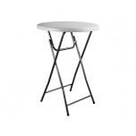 Kokkupandav ümmargune laud - Ø 80 x 110 cm